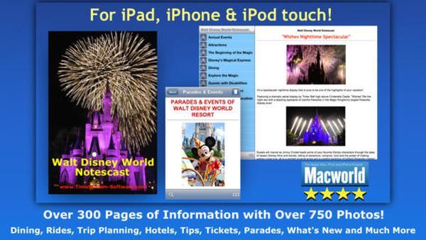 New Walt Disney World Notescast app released