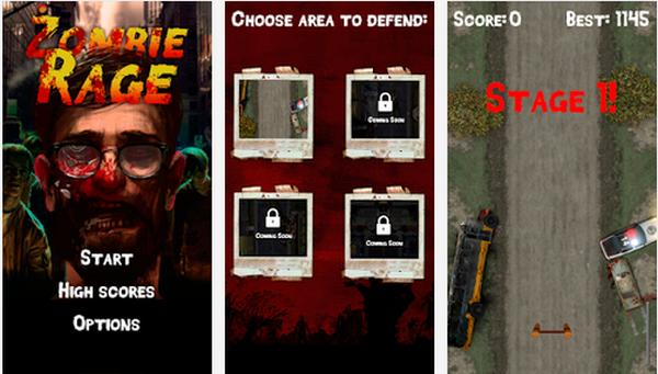 New Zombie Rage indie Android game gets high praise