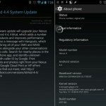 Nexus 4 Android 4.4 KitKat update surfaces