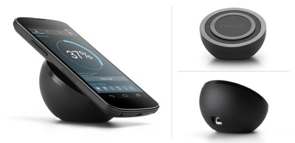 Nexus 4 Wireless Charger on sale & New Battery Widget app revealed