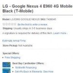Nexus 4 via Best Buy unlocked or on contract- Hurry