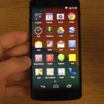 Nexus 5 Android 4.4.3 review look