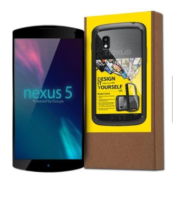Nexus 5 case listing shows design and date