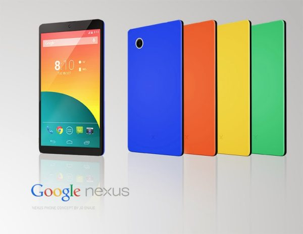 Nexus 5 colors in new concept design pic 2