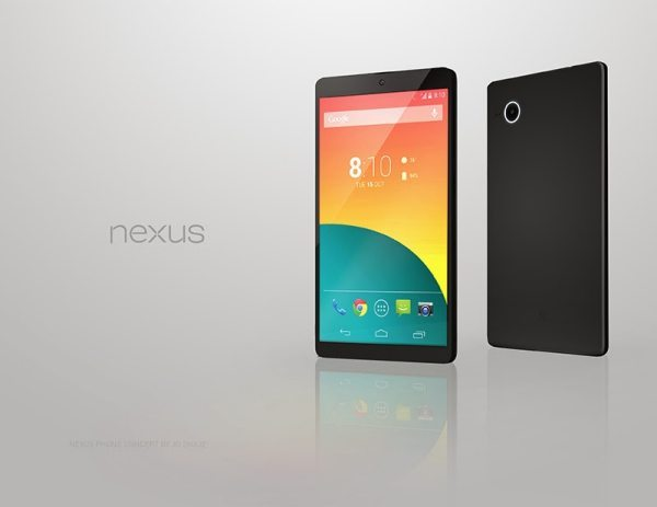 Nexus 5 colors in new concept design