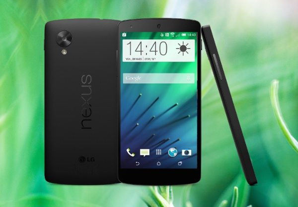 Nexus 5 gets treated to HTC Sense 6