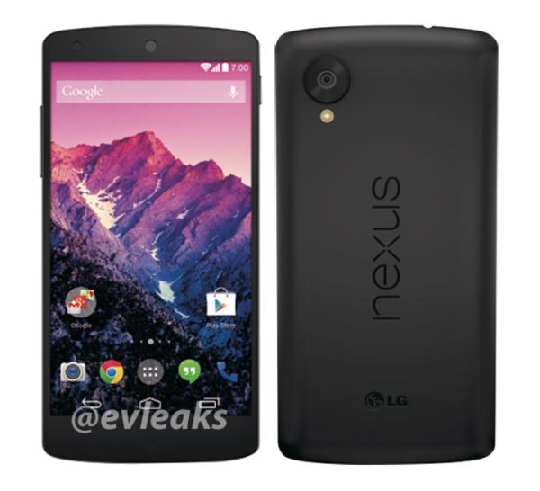 Nexus 5 release imminent after new press render appears