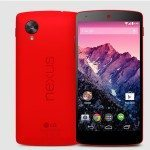 Nexus 5 red option on Telus