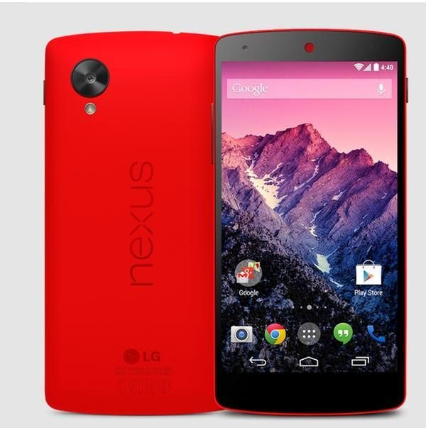 Nexus 5 Red option spreads to Telus, Canada