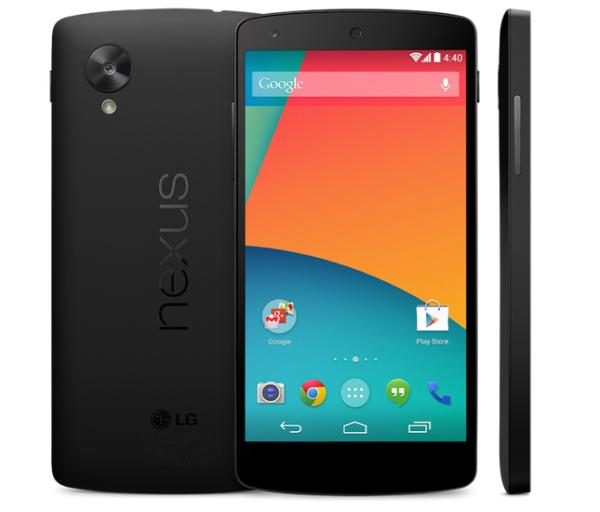 Nexus 5 says hi in multiple sightings