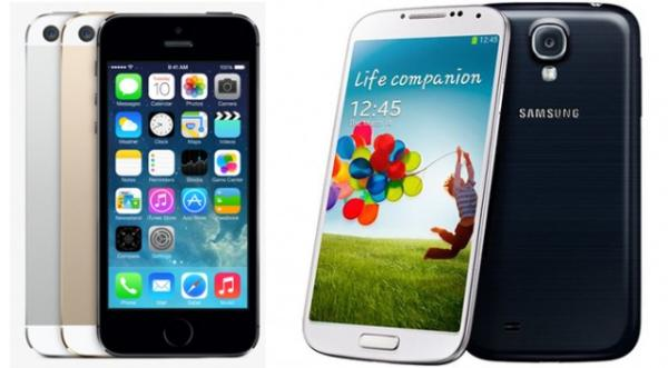 Nexus 5 vs Galaxy S4 vs iPhone 5S specs compared