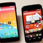 Nexus 5 vs Moto X