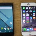 Nexus 5 vs iPhone 6