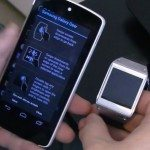 Nexus 5 working with Galaxy Gear