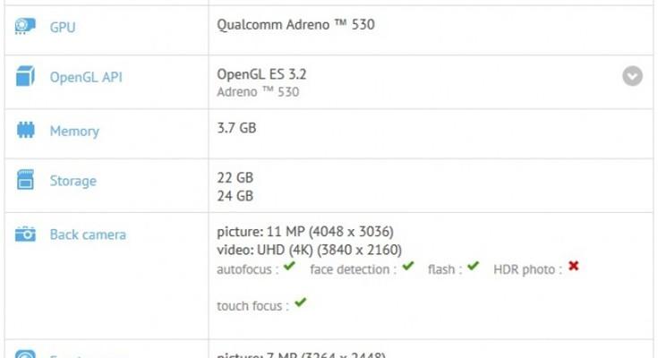 Nexus Sailfish Finally Spotted on GFXBench