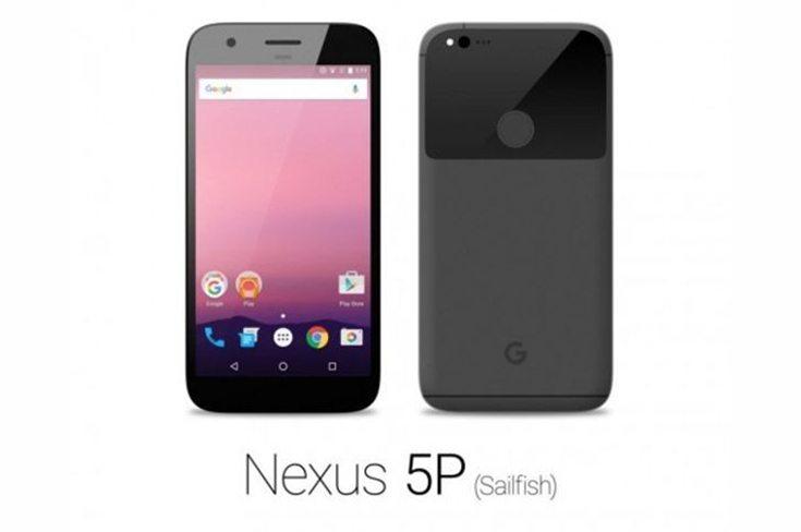 Nexus 5P Sailfish Render