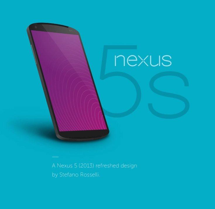Nexus 5S design
