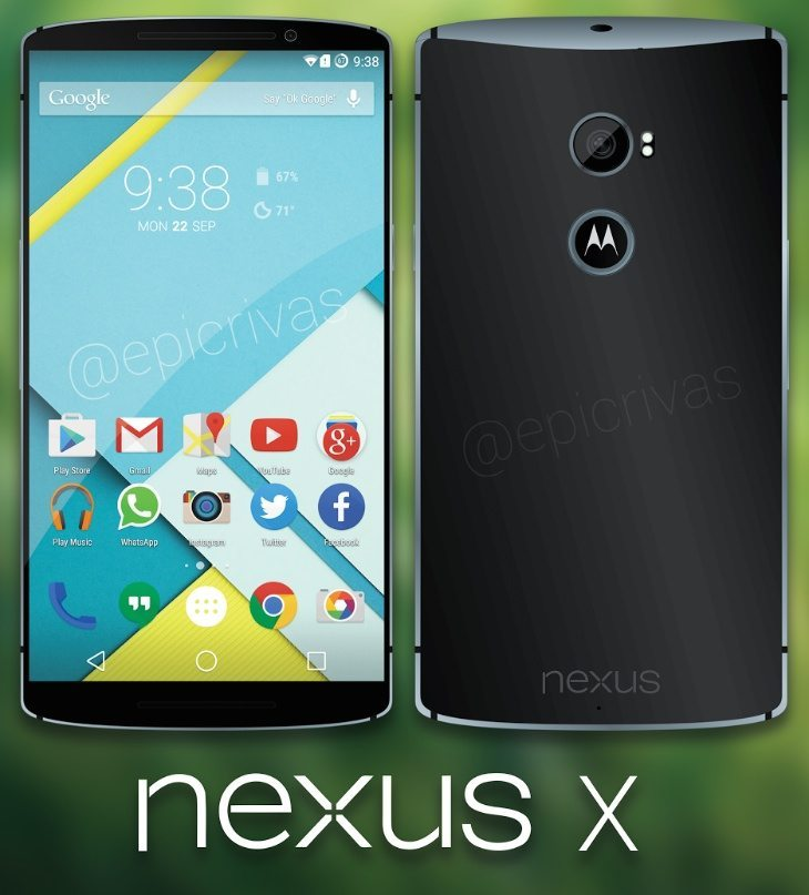 Nexus 6 aka X Motorola design features real style