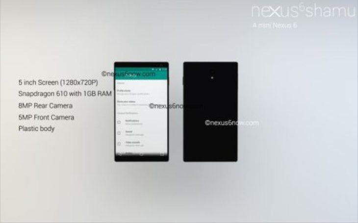 Nexus 6 designed in two varieties b