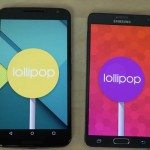 Nexus 6 vs Galaxy Note 4 Android Lollipop