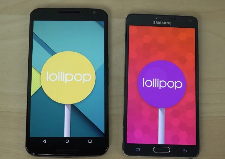 Nexus 6 vs Galaxy Note 4 Android Lollipop review