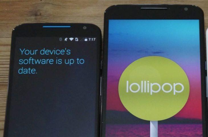 Nexus 6 vs Moto X b