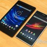 Nexus 7 2013, Xperia Z Ultra side-by-side look