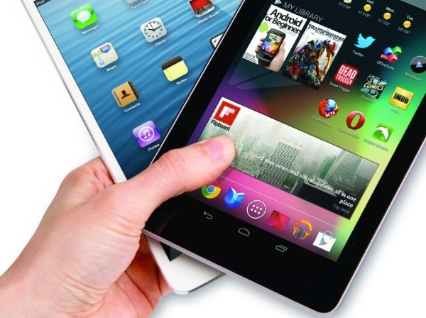 Nexus 8, iPad mini 3 over laptops