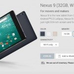 Nexus 9 UK orders delayed