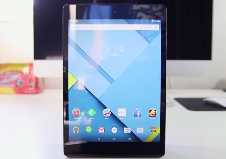 Nexus 9 review selection