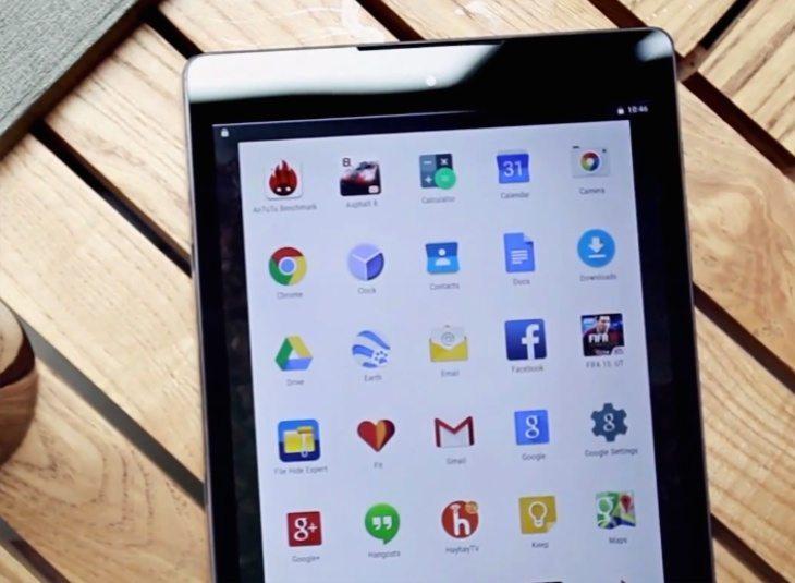 Nexus 9 video look
