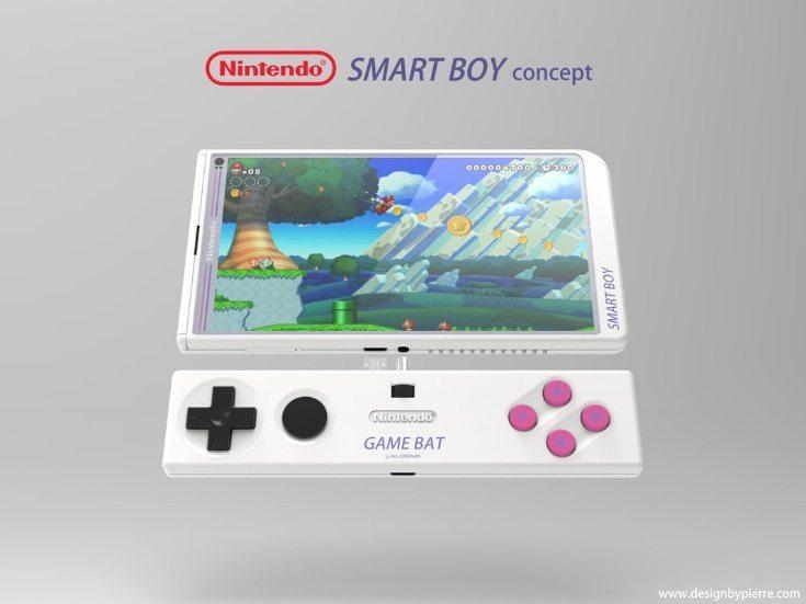 Nintendo Smart Boy phone design b