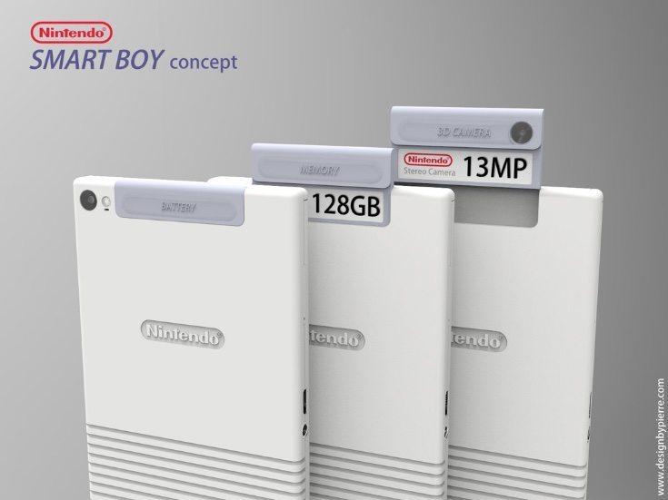 Nintendo Smart Boy phone design c