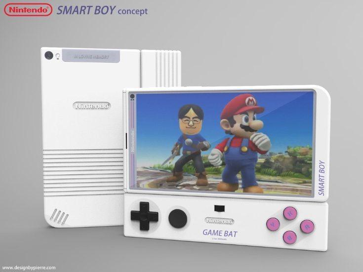 Nintendo Smart Boy phone design e