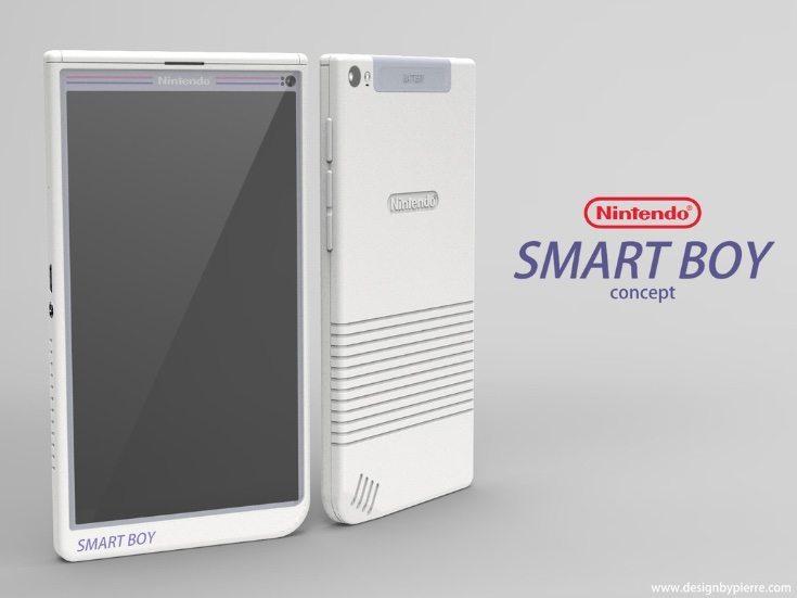 Nintendo Smart Boy phone design f