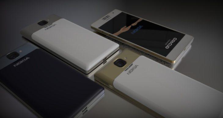 Nokia 1100 renders