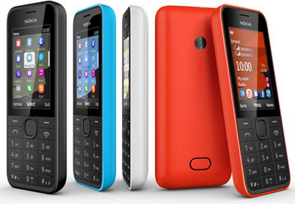 Nokia 207 and 208 provide feature phones on a budget