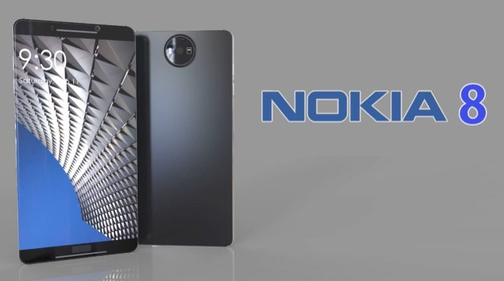 Nokia 8 design vision to drool over