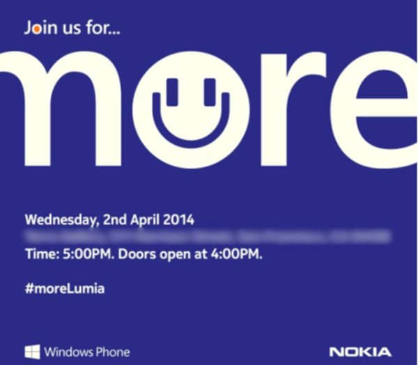 Nokia April 2nd event confirmed