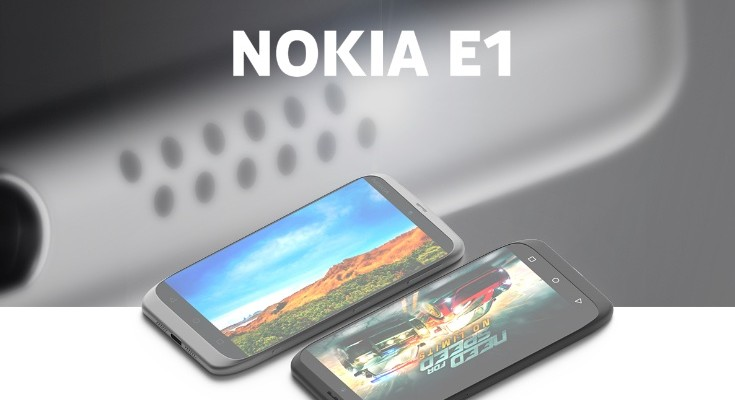 Nokia E1 smartphone design includes specs