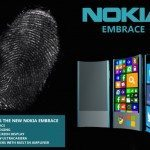 Nokia Embrace curved phone