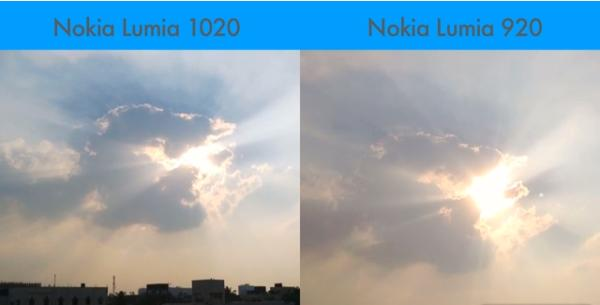 Nokia Lumia 1020 vs Lumia 920 in camera comparison