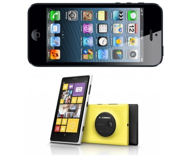 Nokia Lumia 1020 vs iPhone 5 in must own showdown