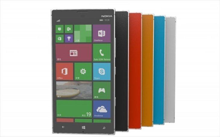 Nokia Lumia 1030 design features 20 MP selfie camera