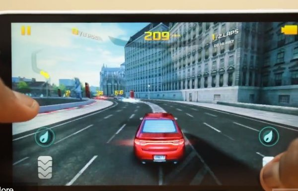 Nokia Lumia 1320 review on gaming performance