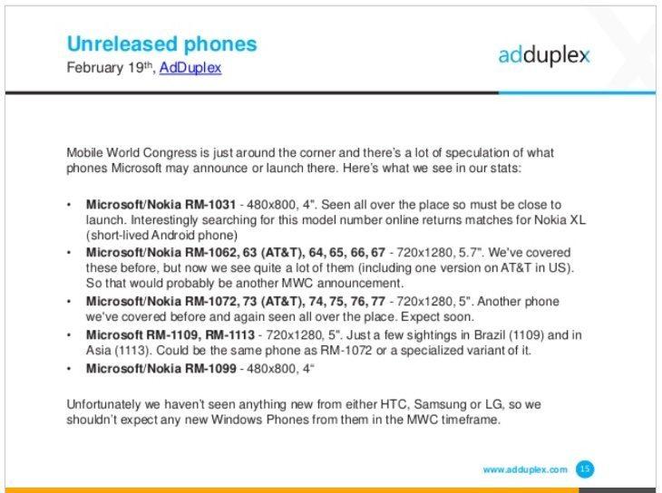 Nokia Lumia 1330, Lumia 640 latest
