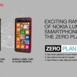 Nokia Lumia 1520 and 1320 zero plan