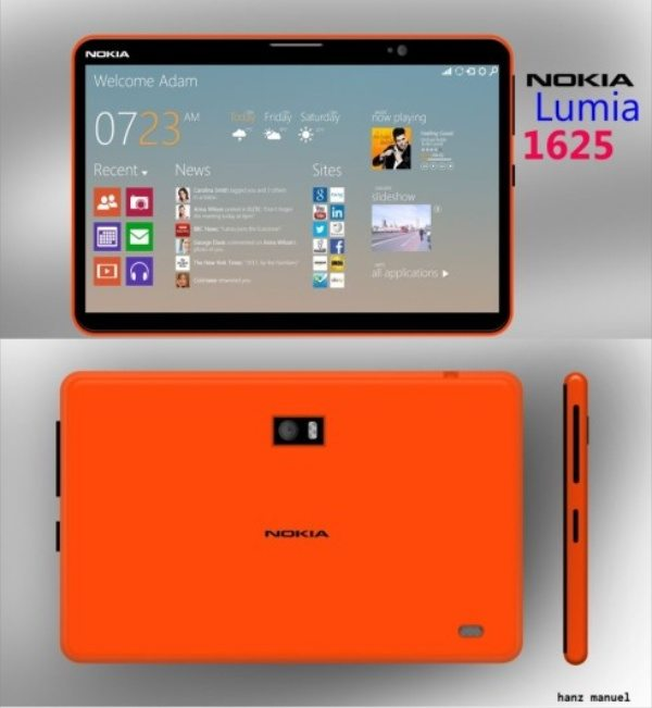 Nokia Lumia 1625 tablet teases further releases ...