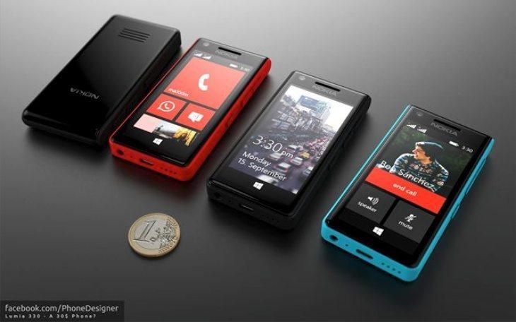 Nokia Lumia 330 concept b
