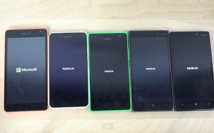 Nokia Lumia 535 vs 635, 735, 830, 930